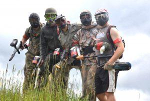 teambuilding skirmish paintball