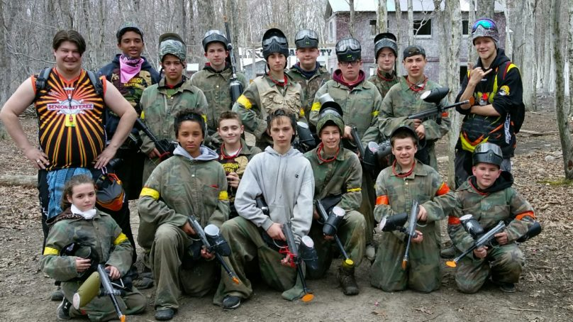 Skirmish Paintball's Paintball group and referees