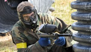 deluxe package skirmish paintball