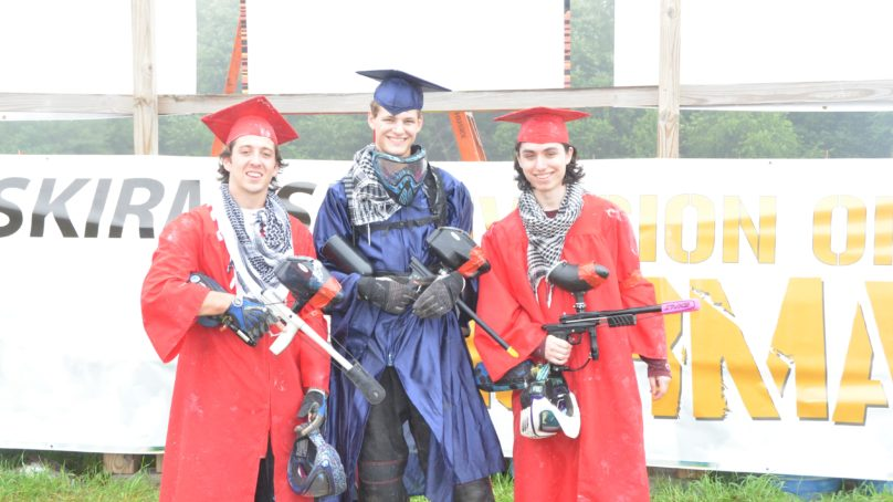 Paintball Players at Skirmish Paintball in Jim Thorpe, PA