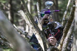 skirmish paintball outdoor fun close near action adrenaline adventure, columbus day deal
