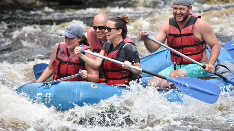 One day Paddles & Battles, rafting, rafts